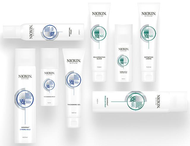 Стайлинг NIOXIN 3D