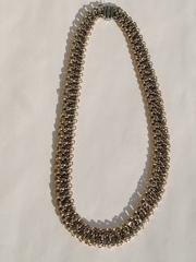Шахерезада-колье (серебряная цепочка с позолотой)