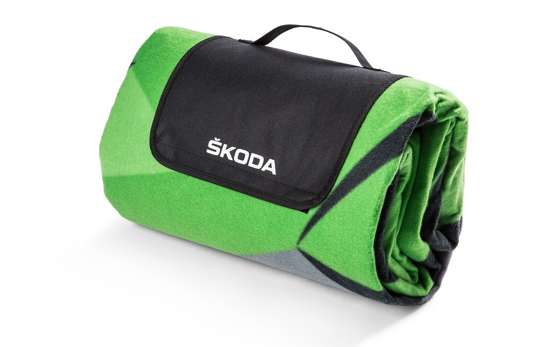 Плед для пикника Skoda