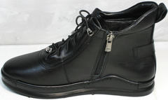 Ботинки кеды женские Evromoda 375-1019 SA Black