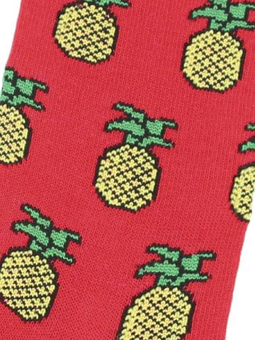 Носки с ананасами