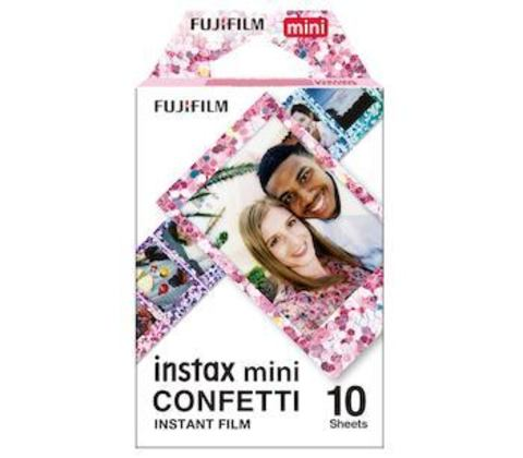 Fotoaparat lenti \ Картридж Fujifilm Instax MINI Confetti, 10 lent