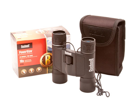 Комплект поставки бинокля PowerView 10x25