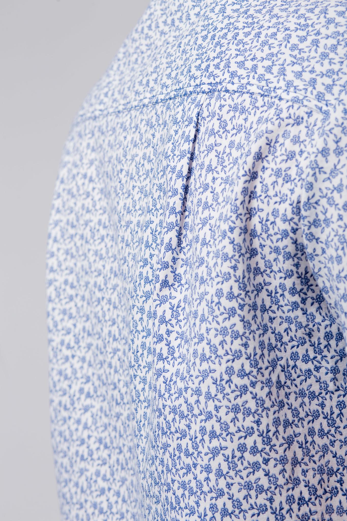 Рубашка льняная Енисейская спинка