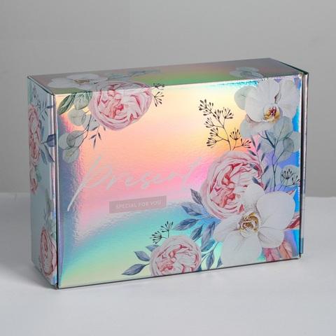 Коробка складная Present special for you, 30,5 × 22 × 9,5 см