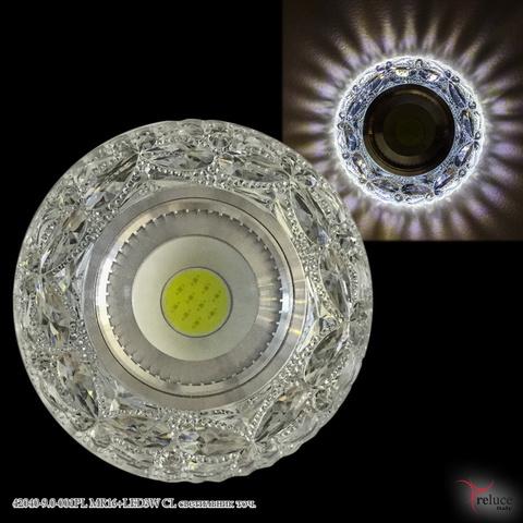 42040-9.0-001PL MR16+LED3W CL светильник точ.