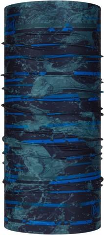 Бандана-труба летняя с защитой от насекомых Buff CoolNet Insect Shield Stray Blue фото 1