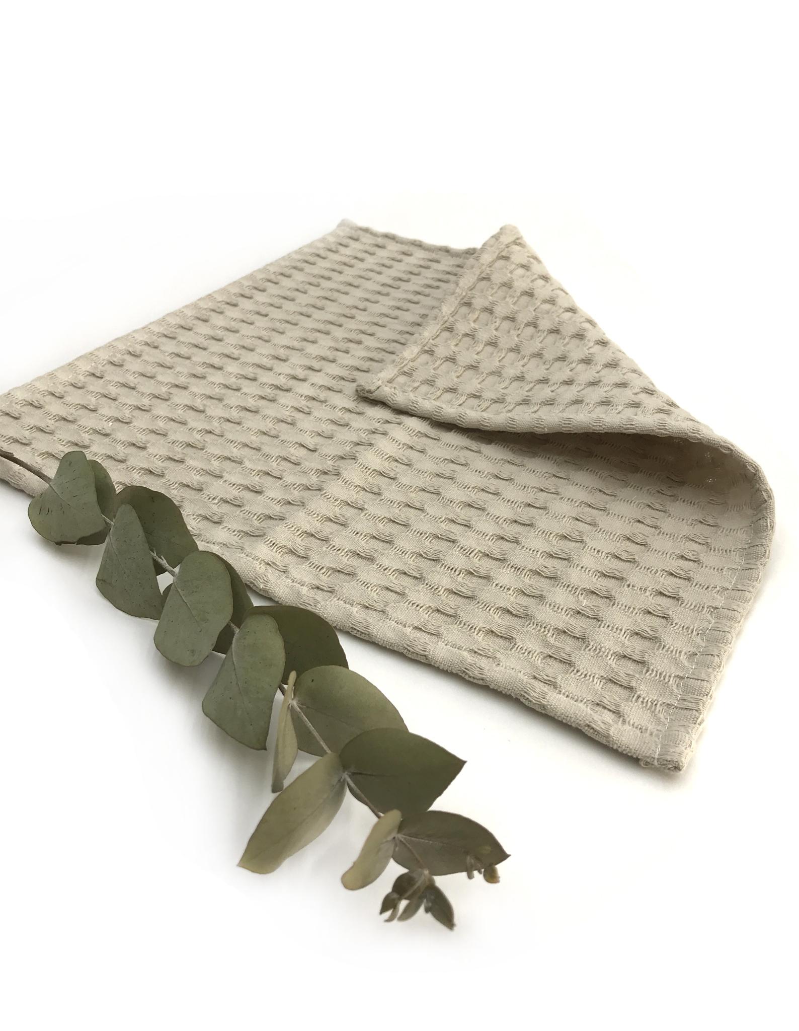 Вафельная салфетка,песочный,35х35 см