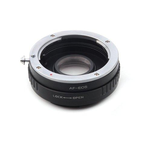 Переходник Sony A на Canon EOS с линзой