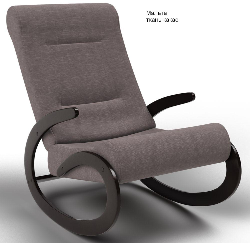 Кресла качалки Кресло-качалка Мальта Ткань мальта_какао.jpg