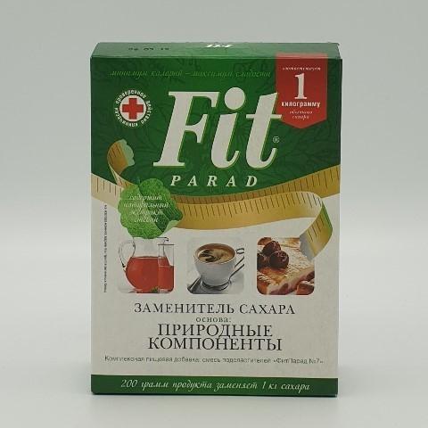 Заменитель сахара на основе эритрита №7 ФИТПАРАД, 200 гр