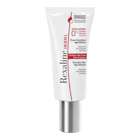 Rexaline Увлажняющий, снимающий усталость, успокаивающий крем для кожи вокруг глаз DERMA Eye Contour Cream