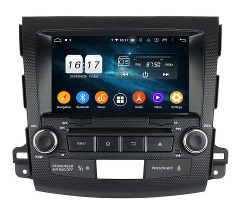 Штатная магнитола Mitsubishi Outlander XL (07-11) Android 10 4/64GB IPS DSP модель KD 8063