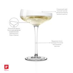 Бокал-креманка Champagne Coupe 200 мл, фото 4