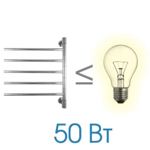 Полотенцесушитель электрический Energy I G5 640x550