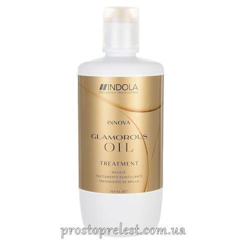 Indola Innova Glamorous Oil Shimmer Treatment - Маска для гладкості і блиску