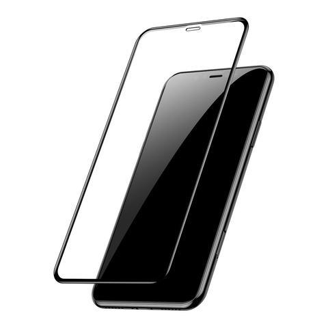 Защитное стекло для iPhone XS Max/11 Pro Max (Black)