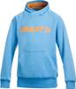 Толстовка Craft Flex Hood детская голубая