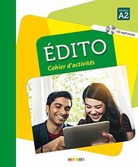 Edito A2 - Cahier + CD