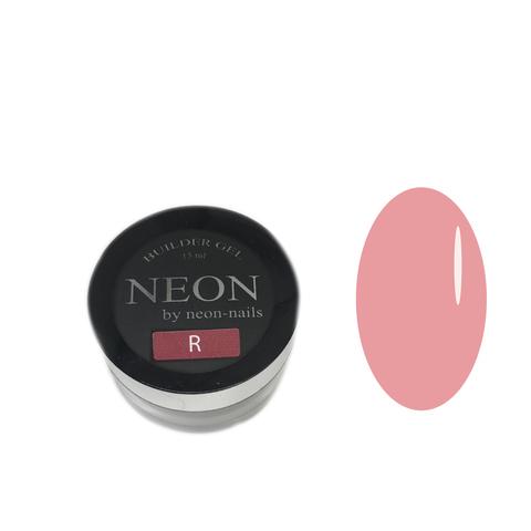 NEON, BUILDER GEl Rose, 15 ml кофейно-розовый моделирующий камуфлирующий гель