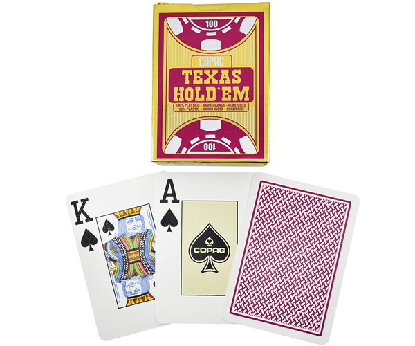 Карты Copag Texas Holdem Jumbo Index