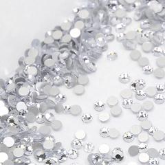 Стразы для дизайна ногтей серебро SS3-1,4мм, 1440шт