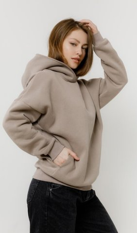 Толстовка Basic Oversize Coffee Fl