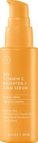 Укрепляющая Сыворотка С 20% Витамином C ALLIES OF SKIN 20% Vitamin C Brighten + Firm Serum