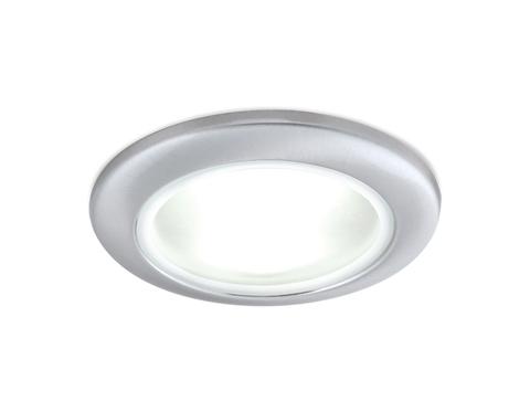 Встраиваемый влагозащищенный точечный светильник TN109 CH хром GU5.3 D92*35