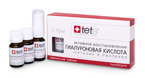 Гиалуроновая кислота + Хитозан /TETe Hyaluronic acid & Hydroxan 3*10 ml