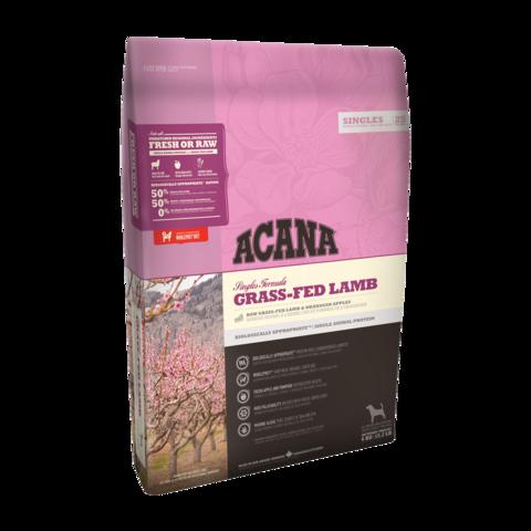 Acana Singles Grass-Fed Lamb Сухой корм для собак Ягненок и Яблоко беззерновой