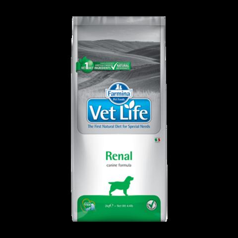 Farmina Vet Life Dog Renal Лечебный сухой корм для собак с почечной недостаточностью