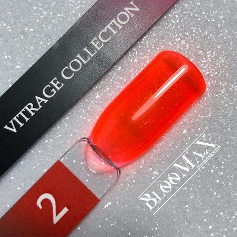 Гель лак с ароматом клубники Vitrage collection 02, 12 мл
