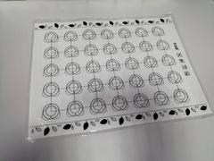 Коврик с разметкой силиконовый 30х40 см d=3.5 см