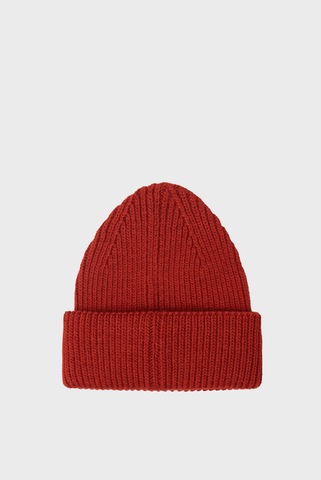 Женская бордовая шапка TH ELEVATED Tommy Hilfiger