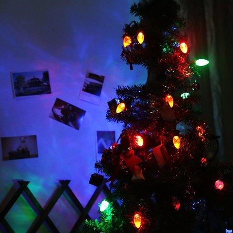 LED Светодиодная гирлянда шарики шишки