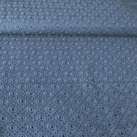 Ткань шитье темно-синее 2117