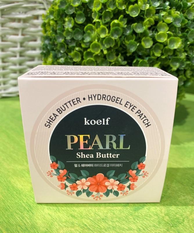Гидрогелевые патчи для глаз с жемчугом и маслом ши Petitfee Koelf 60шт