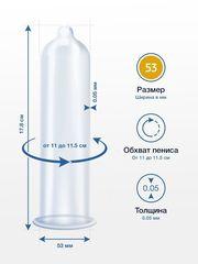 Презервативы MY.SIZE размер 53 - 3 шт.