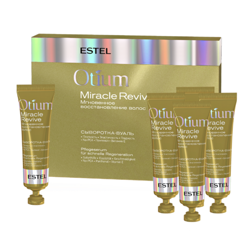 Сыворотка-вуаль для волос «Мгновенное восстановление» OTIUM MIRACLE REVIVE, 5*23 мл