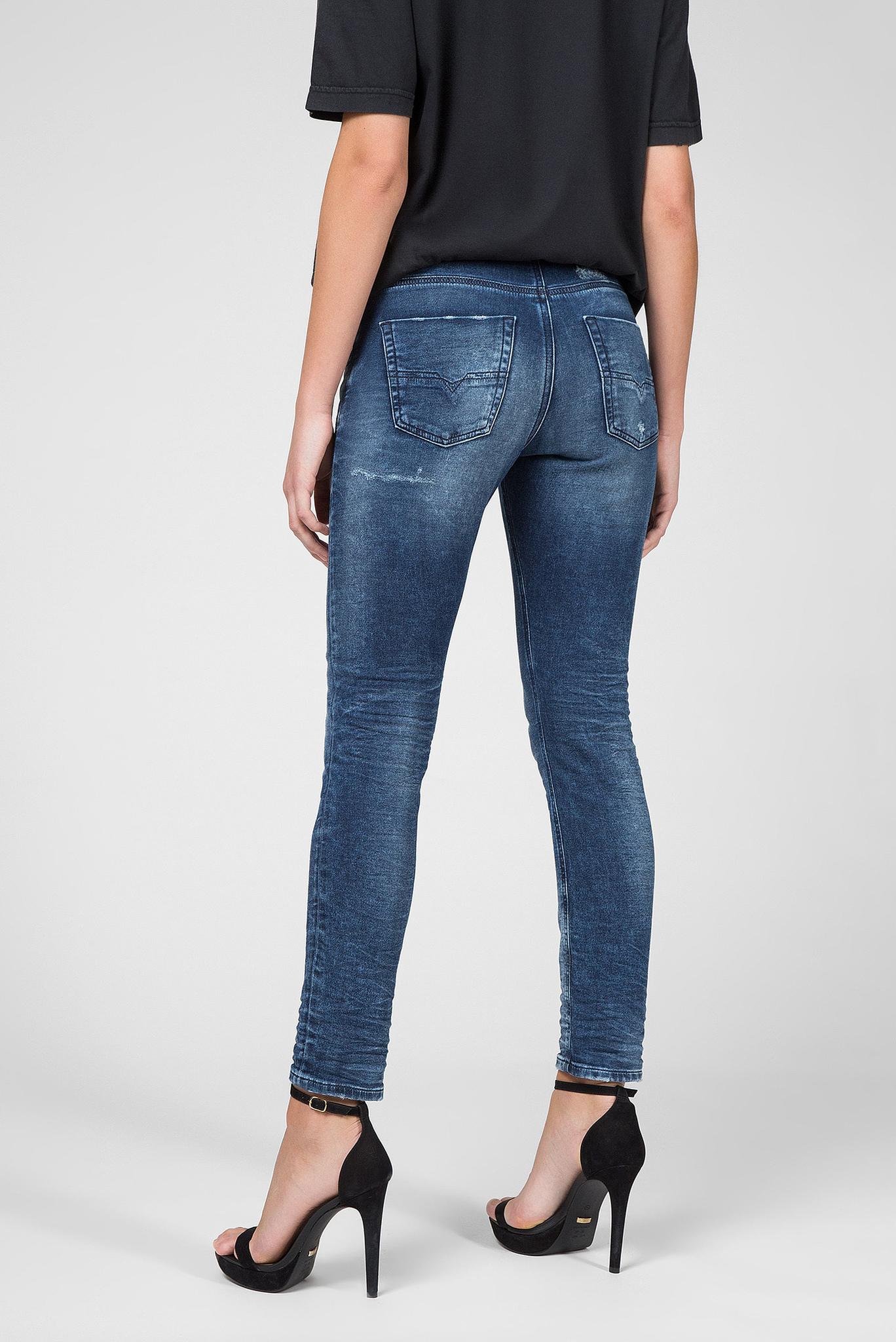 Женские синие джинсы KRAILEY-B-NE Diesel