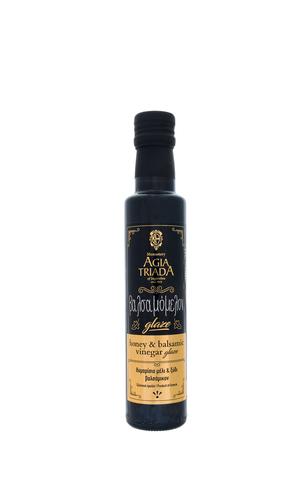 Уксус винный 6% бальзамический с тимьяновым медом 250 мл  Agia Triada glaze