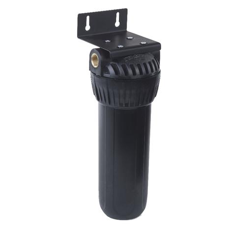 Фильтр Гейзер 1Г 1/2 (8) (черная колба, металл. ниппель, скоба, ключ), арт.50541