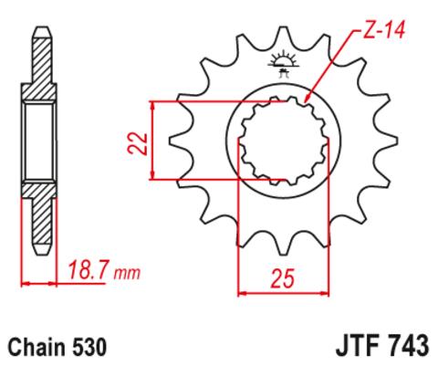 JTF743