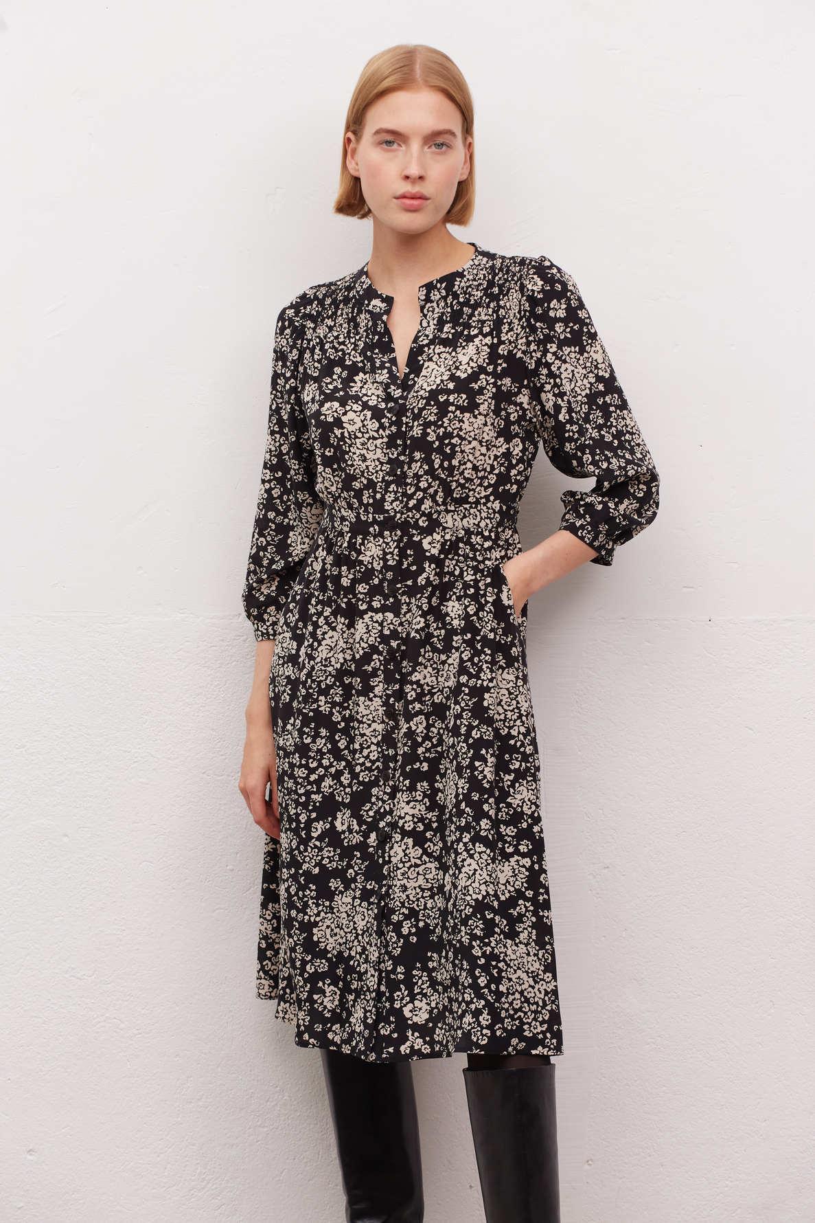 JENA - Длинное шелковое платье