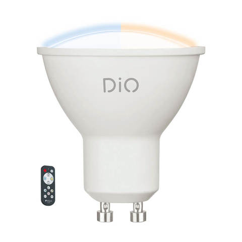 Лампа LED, СCT с измен. темп-ры цвета с пультом ДУ Eglo ACCESS LM-LED-GU10 1X5W 320Lm 2700-6500K  11802