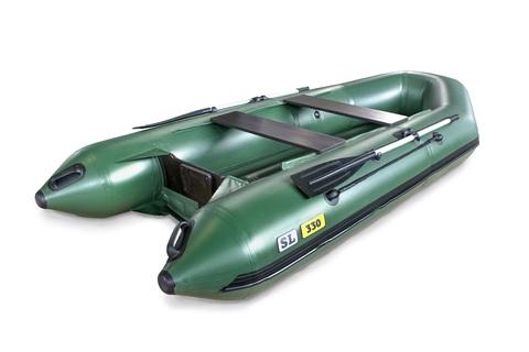 Надувная ПВХ-лодка Солар SL - 330 (зеленый)