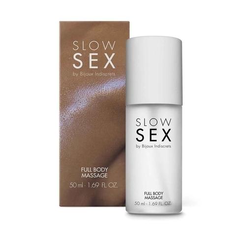 Bijoux Indiscrets Гель косметический Full Body Massage на силиконовой основе, 50мл