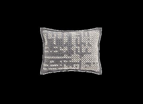 Подушка Canevas Abstract Carbon 57x43 см