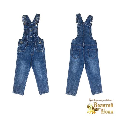 Комбинезон джинсовый девочке (2-7) 210725-BD169002